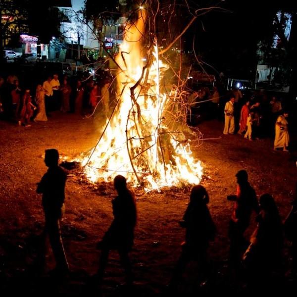 Holika Bonfire
