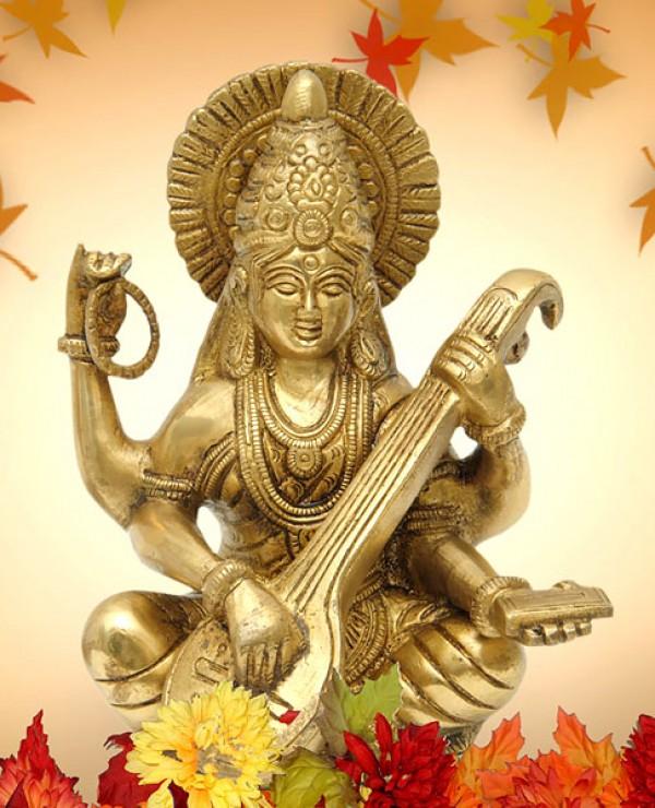 Saraswati Puja During Vasant Panchami – Experience Spiritual Divinity While Seeking Knowledge from the Goddess of Wisdom