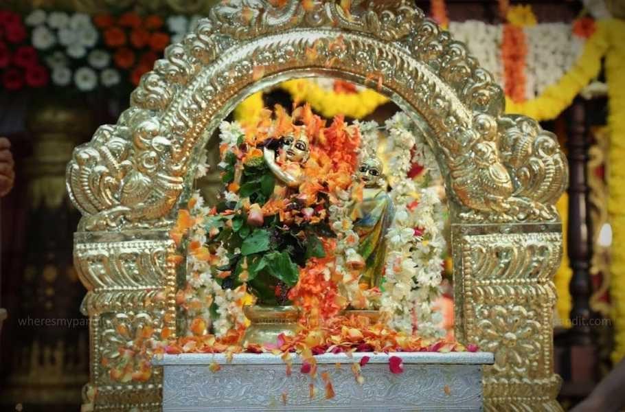 Krishna Janmashtami - Lord Krishna in Palna
